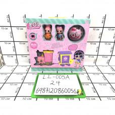Кукла в шаре Поезд набор 24 шт в кор. LL-005A