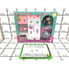 Кукла в шаре Кухня с шарами набор, 24 шт. в кор. LK1030B