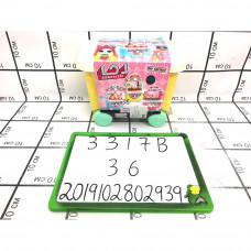 Кукла в шаре киоск со сладостями 36 шт в кор 3317B
