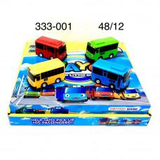 333-001 Автобус Тайо 12 шт. в блоке, 48 шт. в кор.