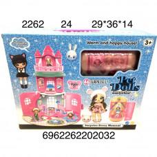 2262 Pet Dolls Замок с капсулой, 24 шт. в кор.