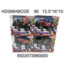 HD398ABCDE  Супергерой на мотоцикле 96 шт в кор.