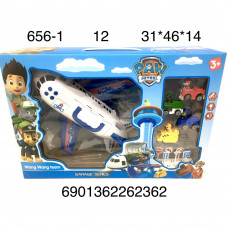 656-1 Собачки Самолет 12 шт в кор.