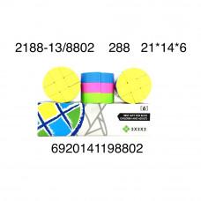 Кубик-рубик 6 шт. в блоке, 288 шт. в кор. 2188-13/8802