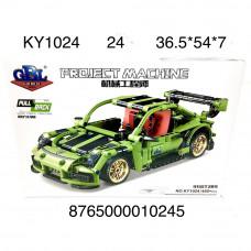 KY1024 Конструктор Машина 455 дет., 24 шт. в кор.