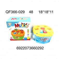 QF366-029 Музыкальная игрушка на батарейках (свет, звук), 48 шт. в кор.