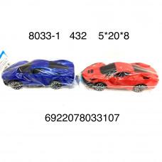 8033-1 Машинка в пакете, 432 шт. в кор.
