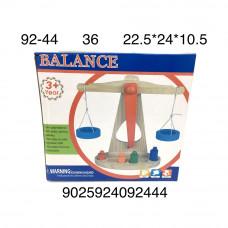 92-44 Деревянная игрушка Весы 36 шт в кор.