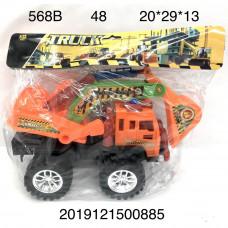 568B Машинка в пакете, 48 шт. в кор.