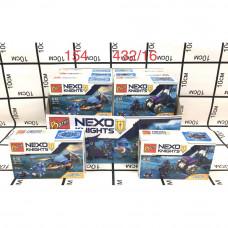 154 Конструктор Нексо 16 шт. в блоке, 432 шт. в кор.