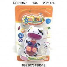 DS619A-1 Игрушка для малышей Корова (свет, звук), 144 шт. в кор.