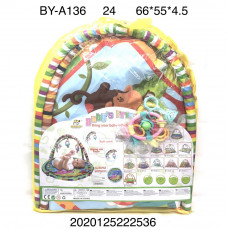 BY-A136 Коврик развивашка для малышей  24 шт. в кор.