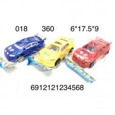 018 Машина в пакете, 360 шт. в кор.
