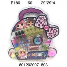 E180 Маникюрный набор Кукла в шаре, 60 шт. в кор.
