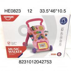 HE0823 Каталка для малышей (свет, звук), 12 шт. в кор.