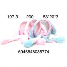 197-3 Ободок с ушками, 200 шт. в кор.