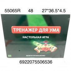 55065R Настольная игра Тренажер для ума, 48 шт. в кор.