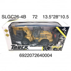 SLGC26-4B Трактор на РУ. 72 шт в кор.