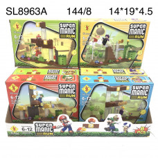 SL8963A Конструктор Марио 8 шт в блоке,18 блоке в кор.