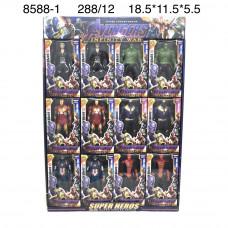 8588-1 Супергерои 12 шт. в блоке, 24 блоке в кор.