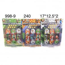 998-9 Набор скейтов для пальцев Майнкрафт 3 шт. в наборе, 240 шт. в кор.