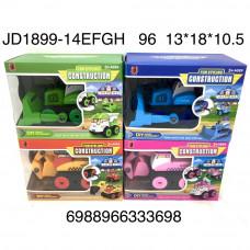JD1899-14EFGH Машинка конструктор, 96 шт. в кор.