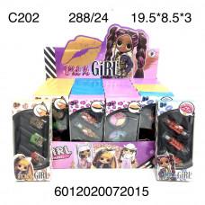 C202 Наборы косметики 24 шт. в блоке,12 блоке. в кор.