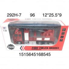 292H-7 Пожарная машина (инерция), 96 шт. в кор.