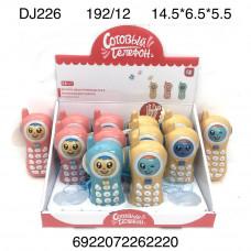 DJ226 Сотовый телефон 12 шт. в блоке, 16 блока в кор.