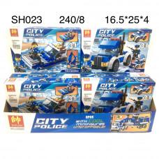 SH023 Конструктор Полиция 8 шт. в блоке, 30 блоке. в кор.