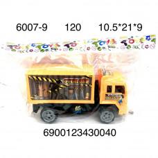 6007-9 Грузовик в пакете, 120 шт. в кор.
