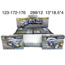 123-172-176 Конструктор Полиция 12 шт. в блоке,24 блоке. в кор.