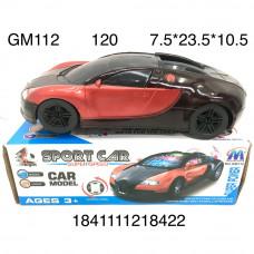 GM112 Машинка на батарейках (свет, звук), 120 шт. в кор.