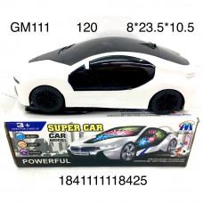 GM111 Машинка на батарейках (свет, звук), 120 шт. в кор.