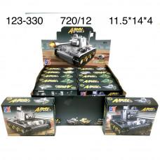 123-330 Конструктор Военная техника 12 шт. в блоке, 60 блока . в кор.