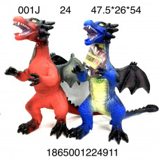001J Динозавры (свет, звук), 24 шт. в кор.