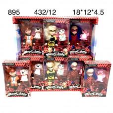 895 Чудесные супергерои 12 шт в блоке,36 блока в кор.