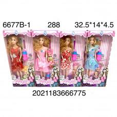 6677B-1 Кукла с дочкой 288 шт в кор.