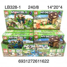 LB328-1 Конструктор Герои из кубиков 8 шт. в блоке, 30 блока. в кор.