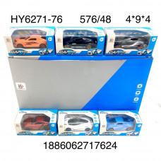 HY6271-76 Модельки (металл) 48 шт. в блоке, 12 блока . в кор.