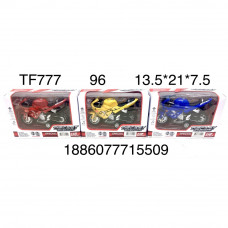 TF777 Мотоцикл (свет, звук), 96 шт. в кор.