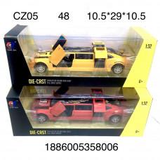 CZ05 Машина Лимузин (металл) 2 шт. в наборе, 48 шт. в кор.