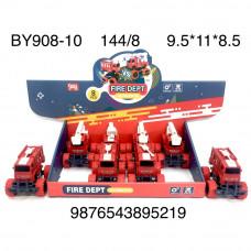 BY908-10 Машина пожарная 8 шт. в блоке, 18 блоке. в кор.