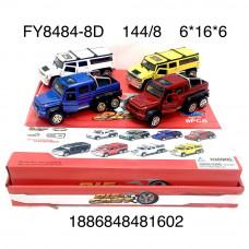 FY8484-8D Модельки (металл) 8 шт. в блоке,18 блока. в кор.