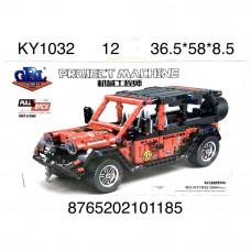 KY1032 Конструктор Техника Джип 664 дет. 12 шт в кор.
