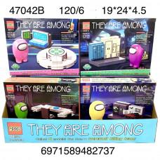 47042B Конструктор НЛО 6 шт в блоке,20 блоке в кор.