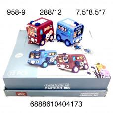 958-9 Автобус Мультяшка 12 шт. в блоке,24 блоке. в кор.