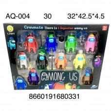 AQ-004 Набор НЛО 10 героев 30 шт в кор.