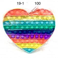 19-1 Поп ит Сердце 100 шт в кор.