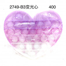 2749-B3 Поп ит Сердце 400 шт в кор.